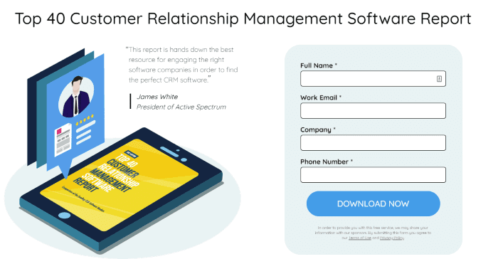 Testimonial Examples Used on Landing Pages - bizsoftware